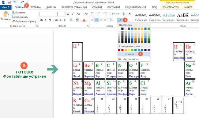 Як виділити і прибрати виділення тексту в MS Word