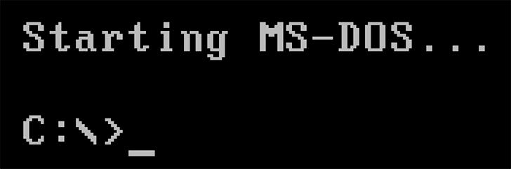 Як зробити DOS завантажувальну флешку під Windows