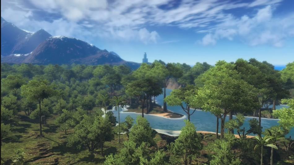 Топ 11 райских мест для отдыха в играх