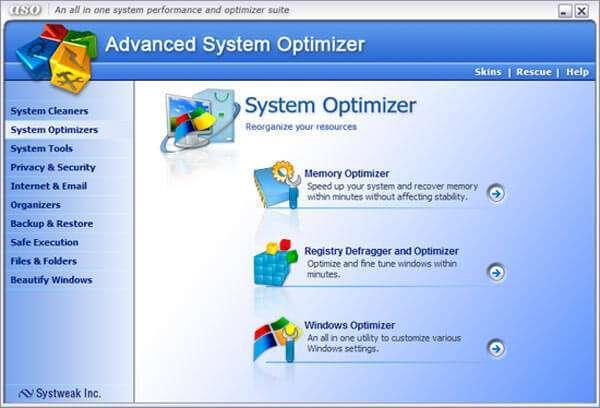 Advanced System Optimizer: оптимізація в 1 клік